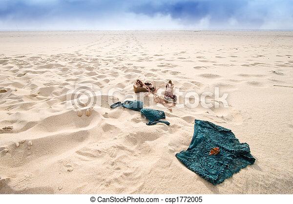 5a1150ece728 Abandonned lingerie. Woman lingerie