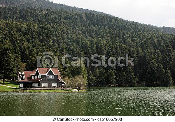 Abant Lake - csp16657908