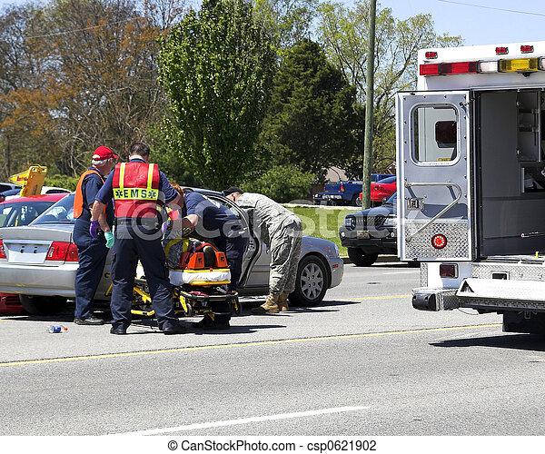 abbattersi, automobile, 5, due - csp0621902