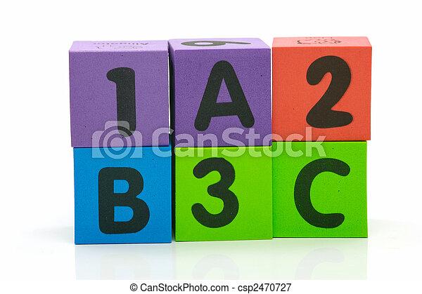 ABC 123 - csp2470727