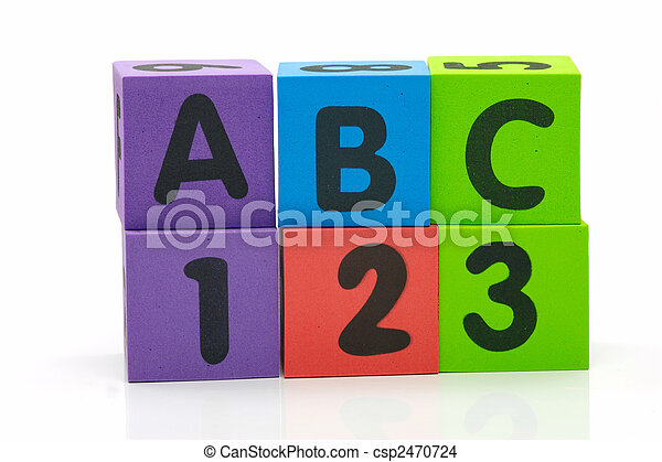ABC 123 - csp2470724