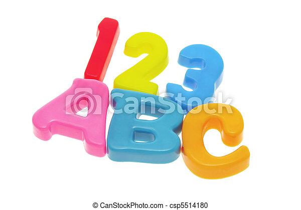 ABC and 123 - csp5514180