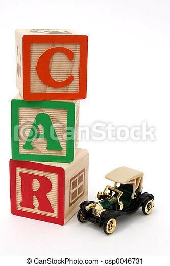 ABC Blocks Car - csp0046731