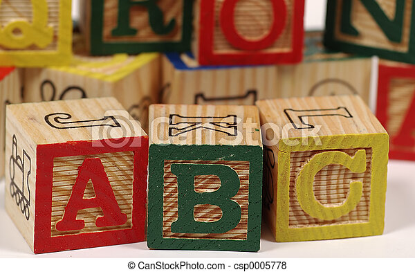 ABC Blocks - csp0005778