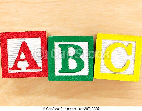 ABC Blocks - csp29710225