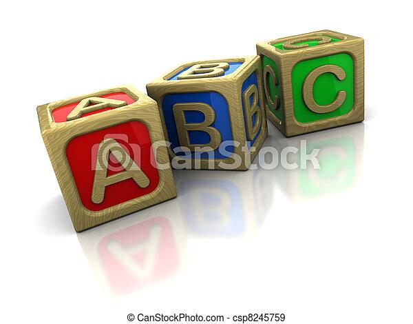 abc blocks - csp8245759