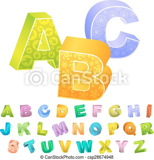 ABC. - csp28674948