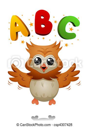 ABC Owl - csp4307428