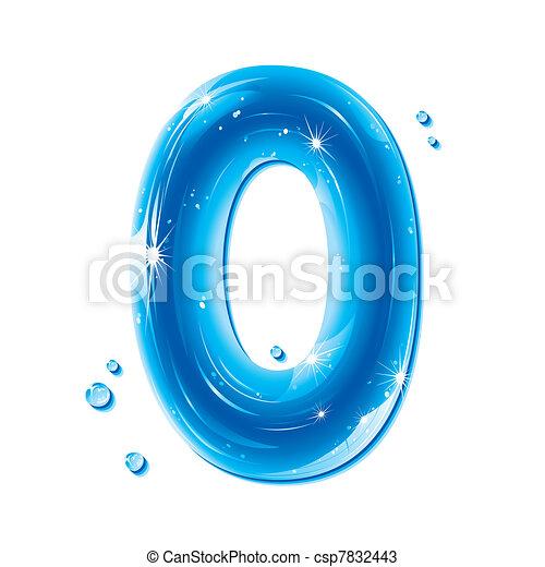 ABC series - Water Liquid Number 0 - csp7832443