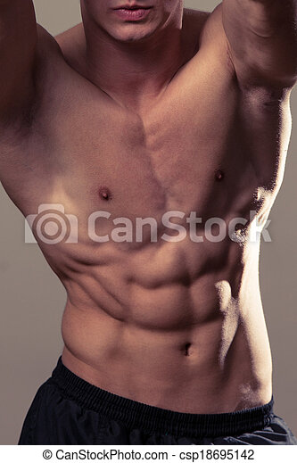 Abdominal Muscles - csp18695142
