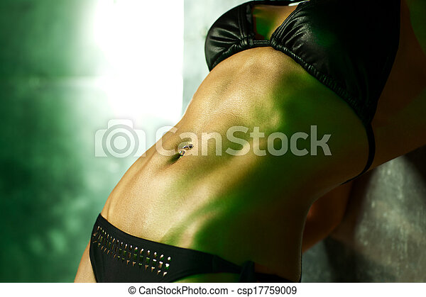 Abdominal muscles - csp17759009