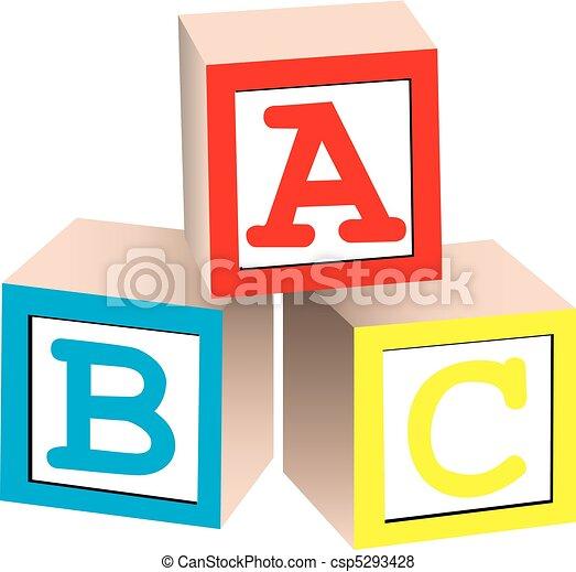 abeceda pařez - csp5293428
