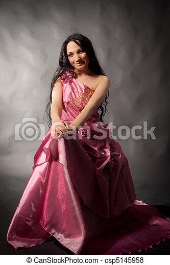 Abendkleid - csp5145958