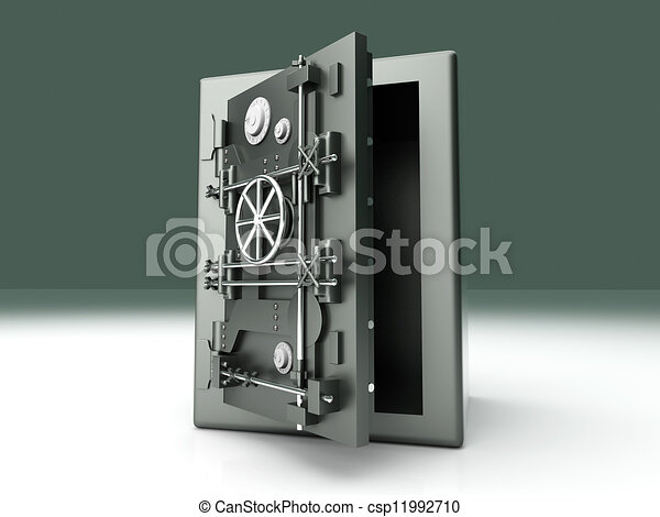 Abre la bóveda - csp11992710
