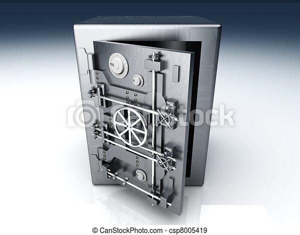 Abre la bóveda - csp8005419