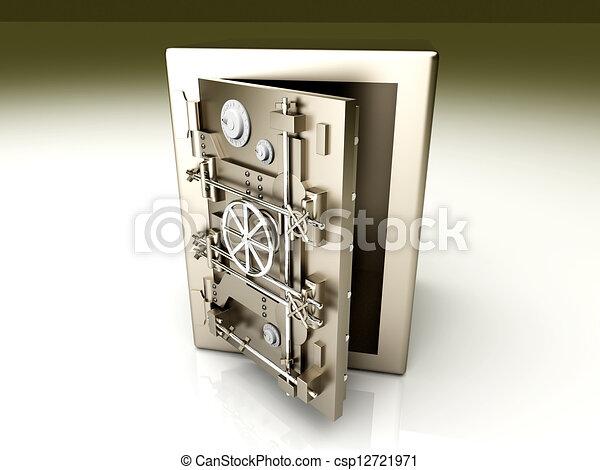 Abre la bóveda - csp12721971