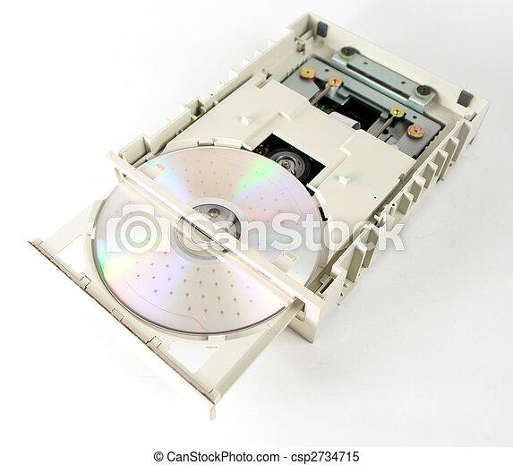 Unidad de CD abierta - csp2734715