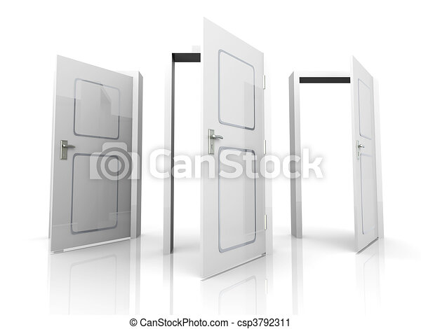 Abran las puertas - csp3792311