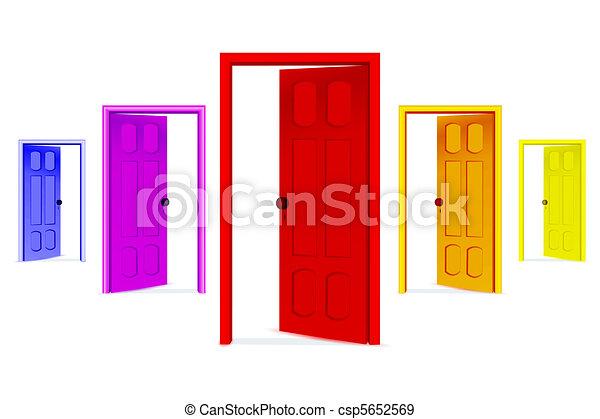 Abran las puertas - csp5652569