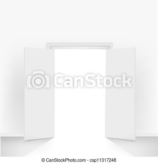 Abran las puertas - csp11317248