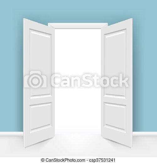 Abran las puertas - csp37531241