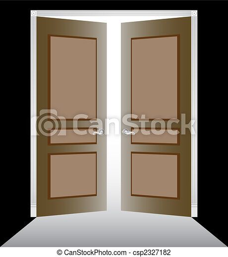 Abran las puertas - csp2327182