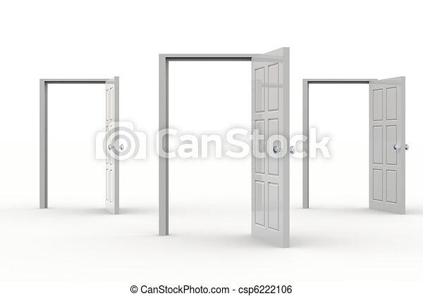 Abran las puertas - csp6222106