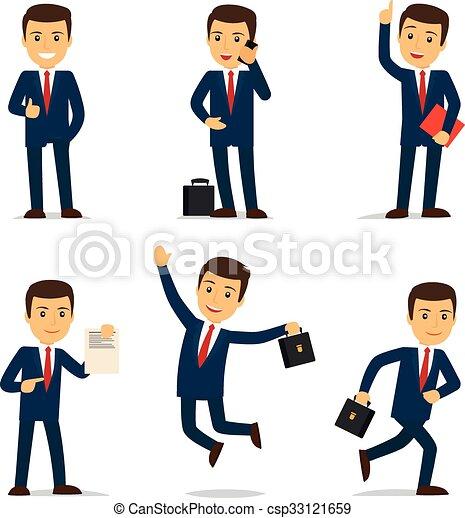 Abogado o abogado dibujante de carácter vector - csp33121659