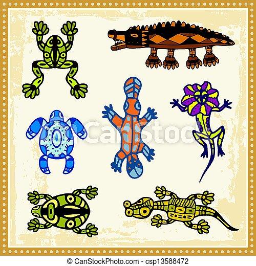 Aboriginal 05 - csp13588472