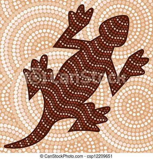 Aboriginal Art - csp12209651