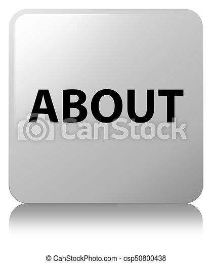 About white square button - csp50800438