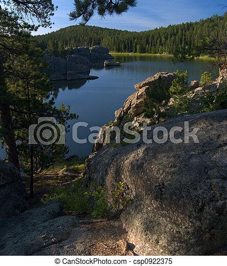 Above Sylvan Lake - csp0922375