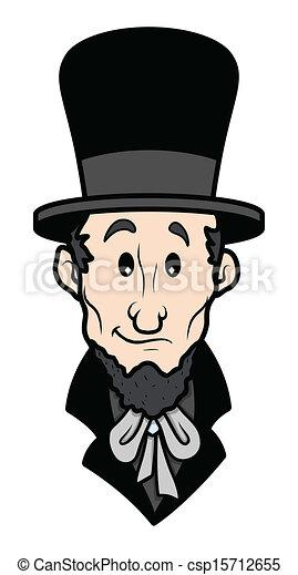 Abraham Lincoln Cartoon Vector Abraham Lincoln Cartoon Character