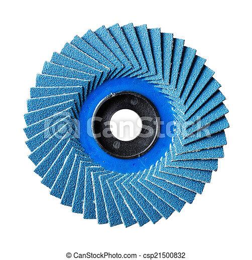 Abrasive flap disc - csp21500832