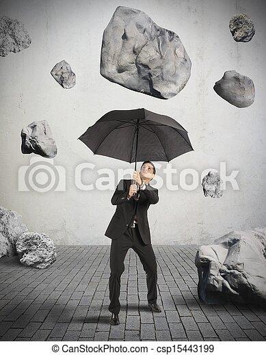 abri, crise, orage - csp15443199