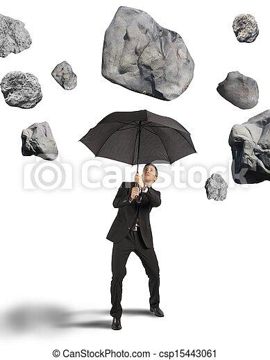 abrigo, crise, tempestade - csp15443061