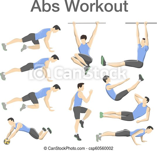 Abs Workout For Men Sport Exercise For Perfect Body Abs Workout For Men Sport Exercise For Perfect Abs Fit Body And