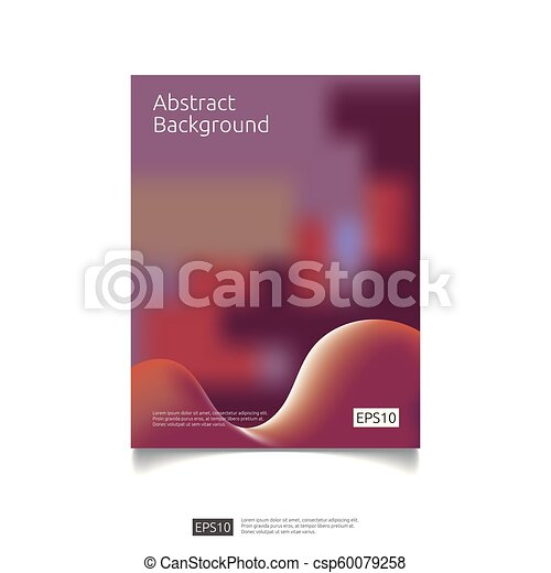 Abstract 3d Fluid Flow Color Graphic Background Design Futuristic Cool Gradient Composition Liquid Shape For Cover Poster Brochure Leaflet Flyer
