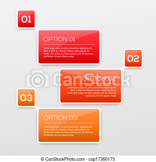 Abstract 3D Infographics - csp17360173