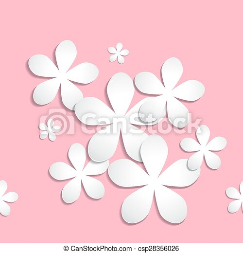 Abstract 3d paper flower back abstract 3d paper flower pattern abstract 3d paper flower back csp28356026 mightylinksfo