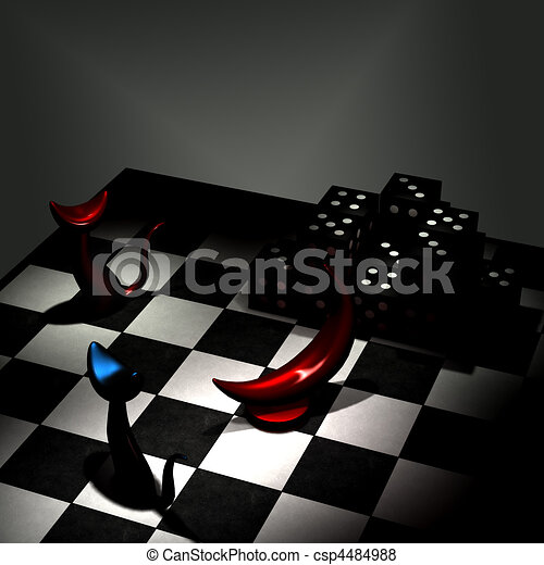 Abstract 3D Room - csp4484988