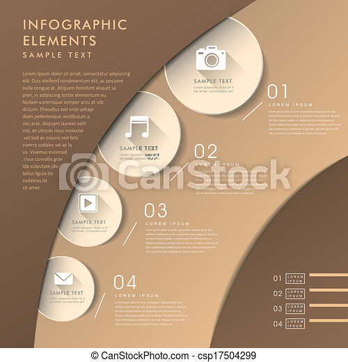 abstract, 3d, tabel, infographics - csp17504299