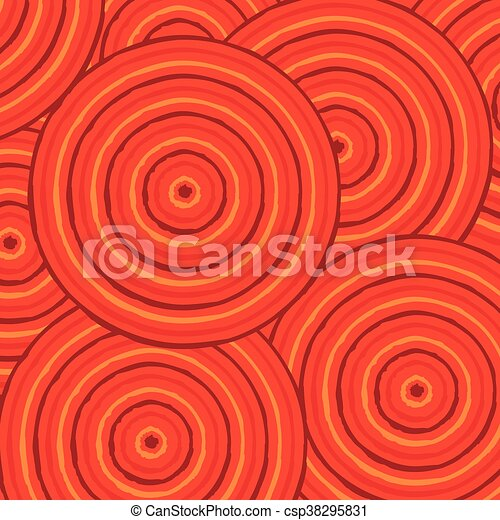 Abstract Aboriginal line painting in vector format. - csp38295831