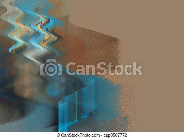 abstract, achtergrond, golven - csp0507772