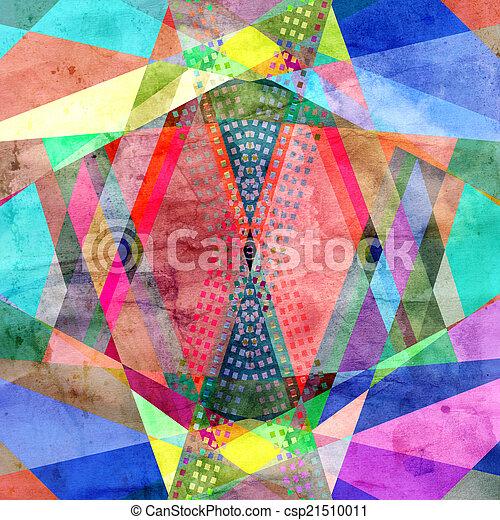 abstract, achtergrond - csp21510011