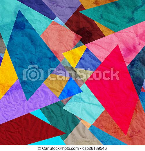 abstract, achtergrond - csp26139546