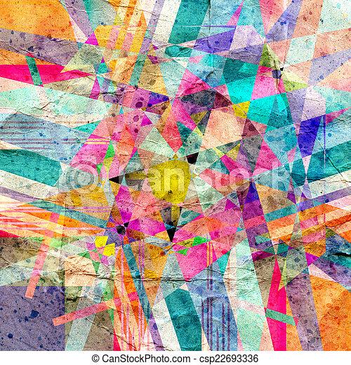 abstract, achtergrond - csp22693336
