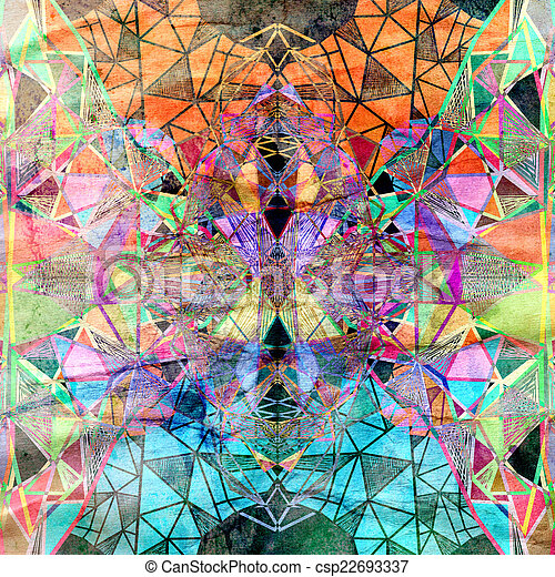 abstract, achtergrond - csp22693337