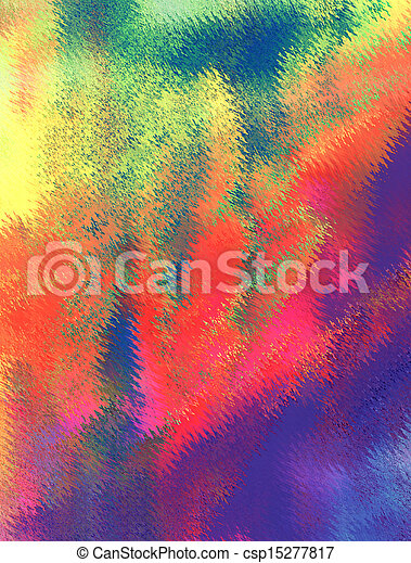 Abstract acrylic painted background - csp15277817