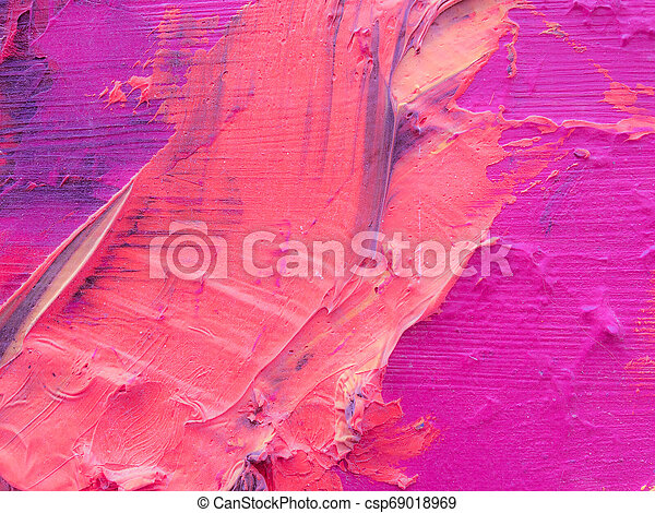 Abstract Acrylic Painted Background - csp69018969